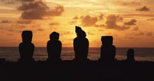 eclipse solar desde Rapa Nui